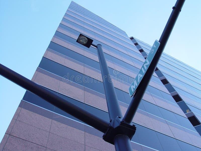 Boise-wellfargo-UrbanDezign lizenzfreies stockfoto