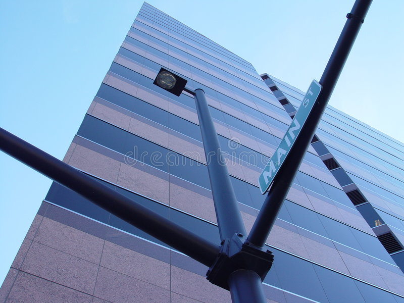 Boise-wellfargo-UrbanDezign royalty free stock photo