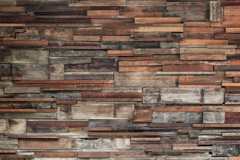 Boisez le fond en bois de texture de mur, mur en bois foncé images stock