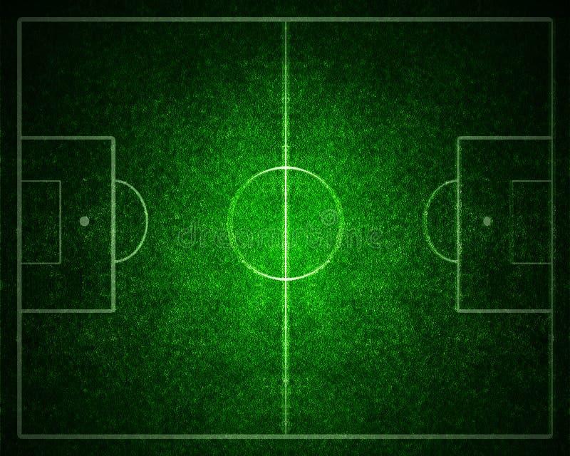Boisko do piłki nożnej ilustracji