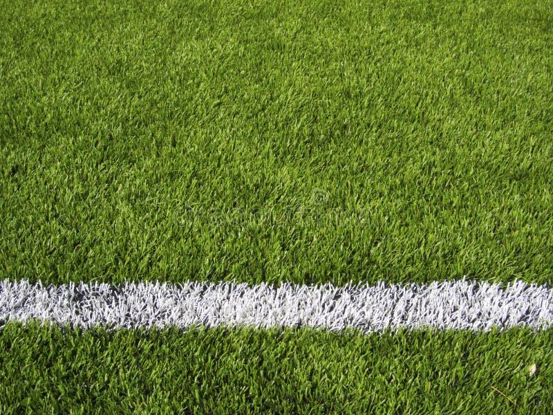 Boisko Do Piłki Nożnej Horyzontalny Kreskowy obraz royalty free