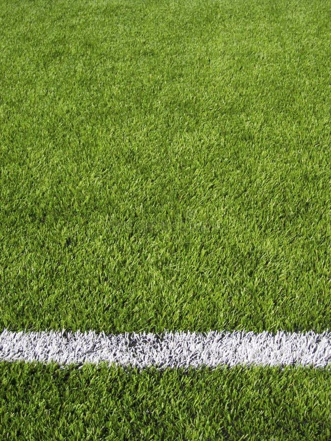 Boisko Do Piłki Nożnej Horyzontalny Kreskowy zdjęcie royalty free