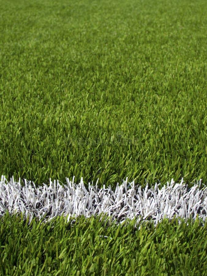 Boisko Do Piłki Nożnej Linie fotografia royalty free