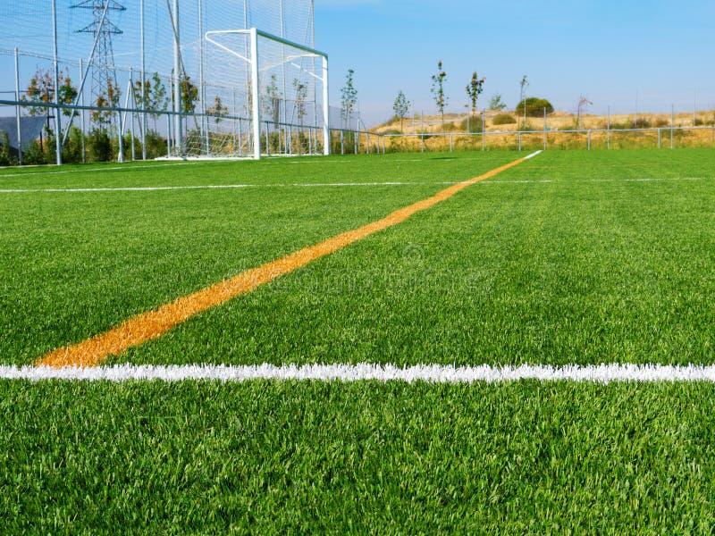 Boisko Do Piłki Nożnej linie obrazy royalty free