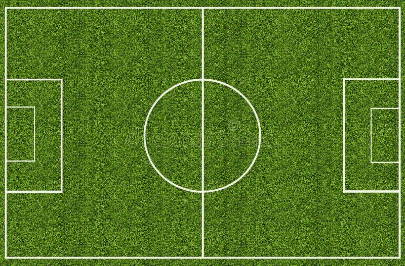 Boisko do piłki nożnej zielona trawa obraz stock