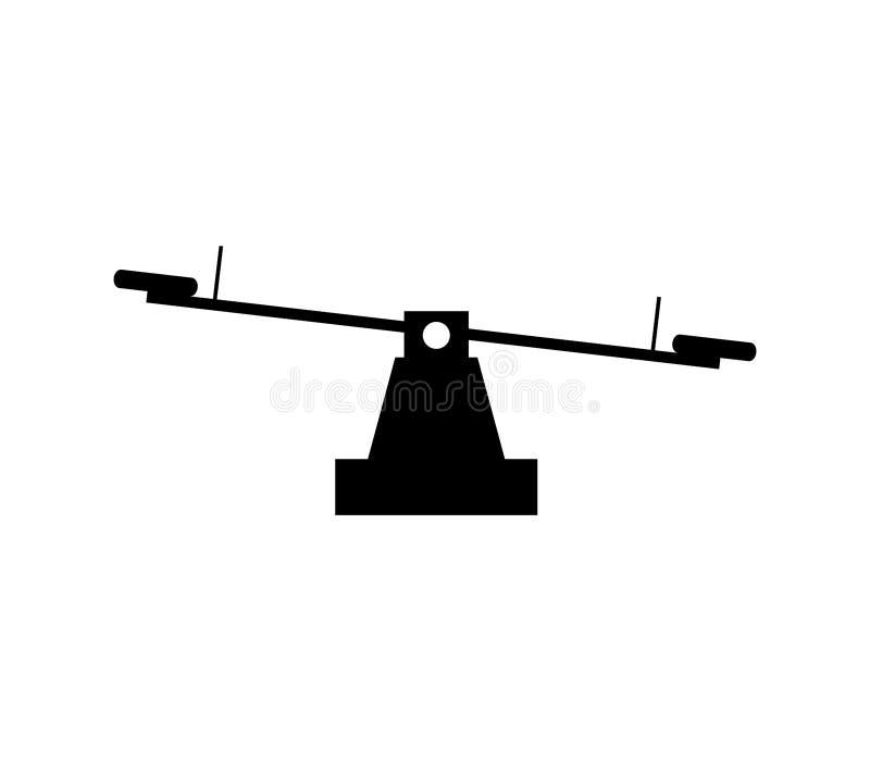 Boisko ikona ilustrująca ilustracja wektor