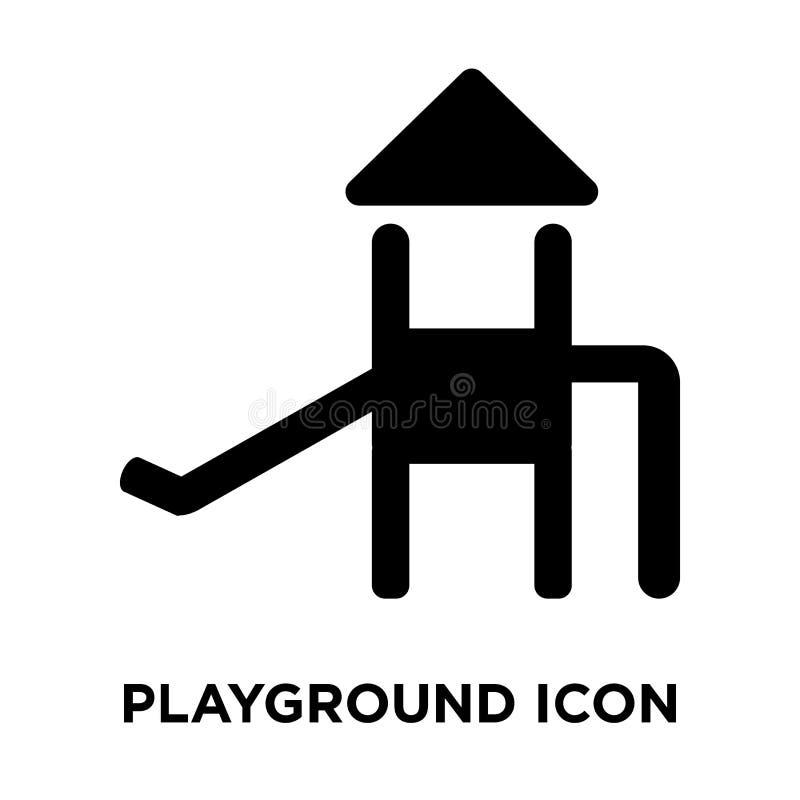 Boisko ikony wektor odizolowywający na białym tle, loga concep ilustracja wektor