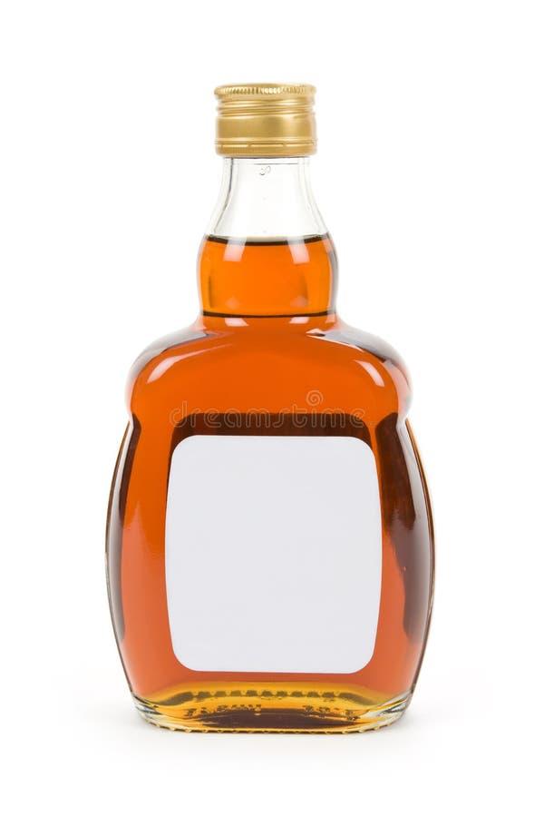 boisson alcoolisée dure de bouteille photo libre de droits