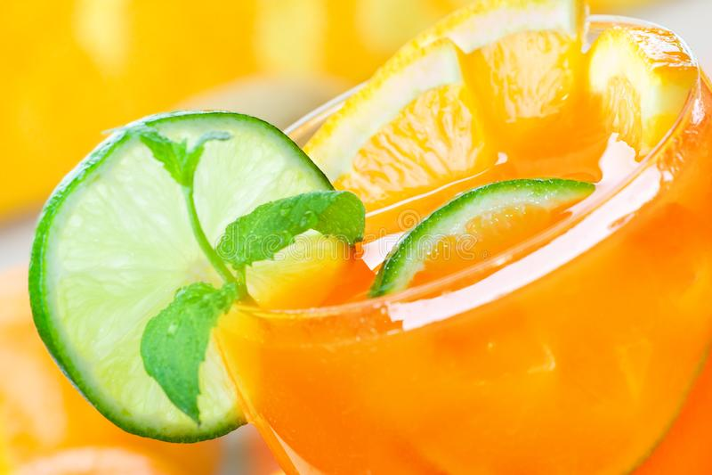 Boisson de citron photographie stock