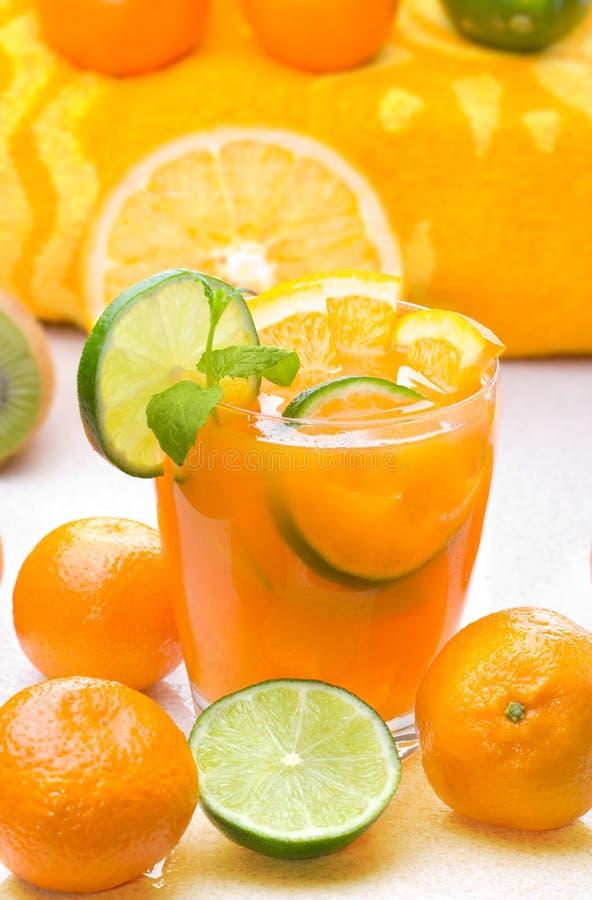 Boisson de citron photo stock