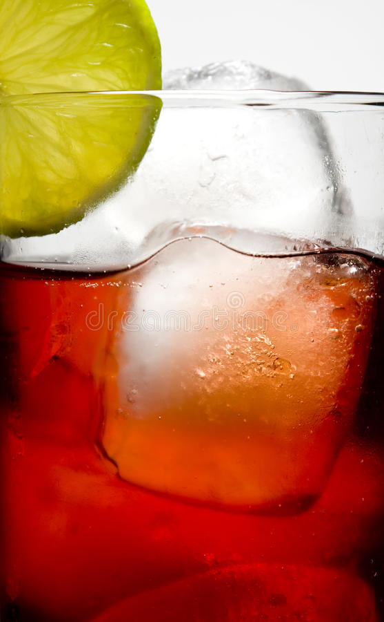 boisson de couleurs image libre de droits