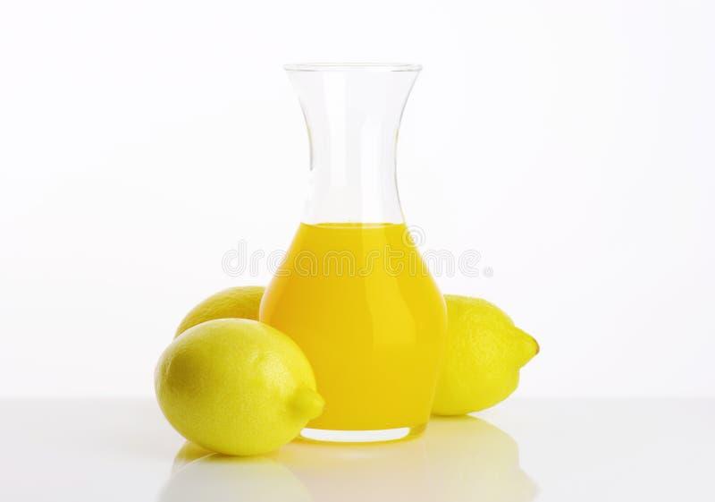 Boisson de jus de citron photo libre de droits
