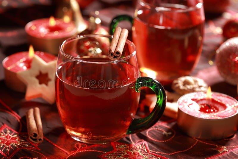boisson de Noël chaude image libre de droits