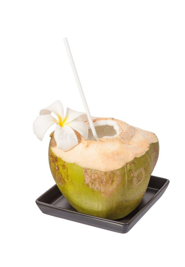 Boisson de noix de coco photo stock