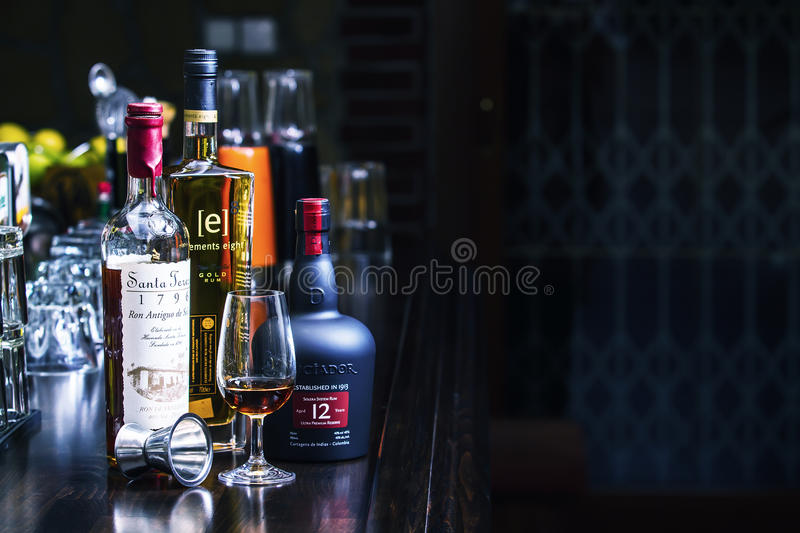 Boisson de rhum photo stock