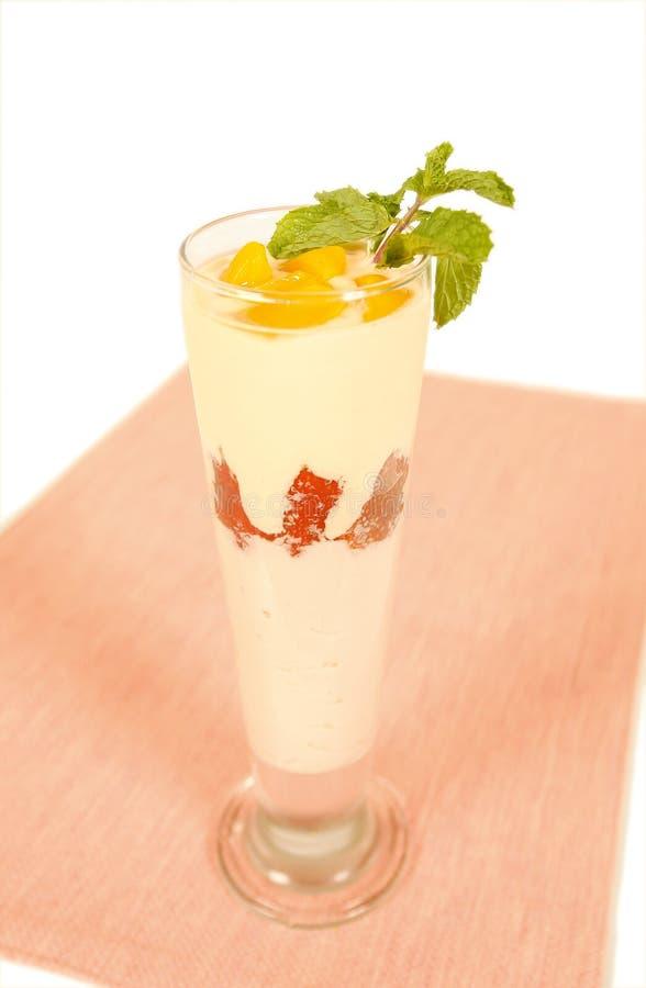 Boisson de yaourt images stock