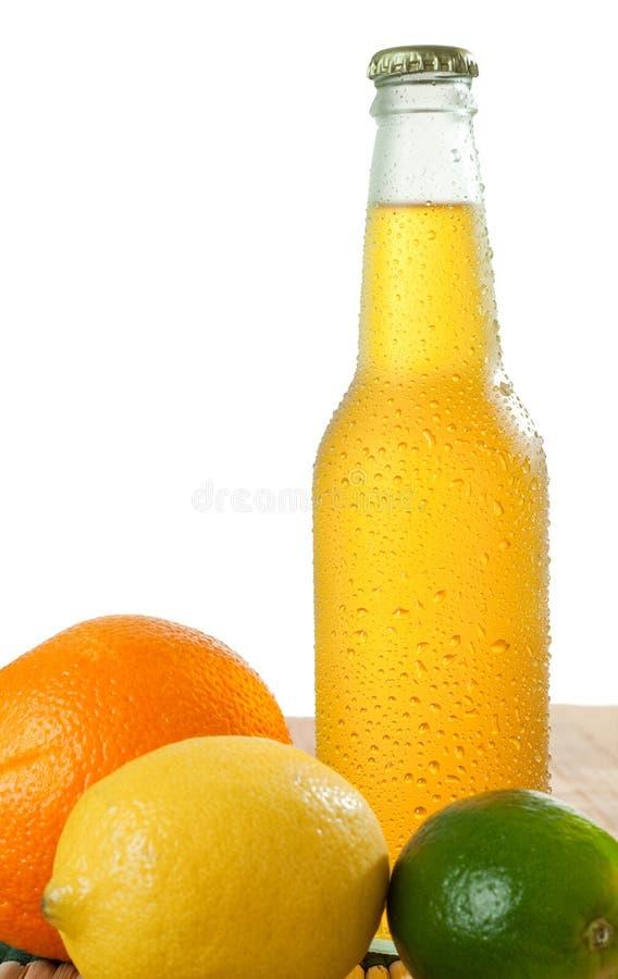 Boisson et fruits images stock