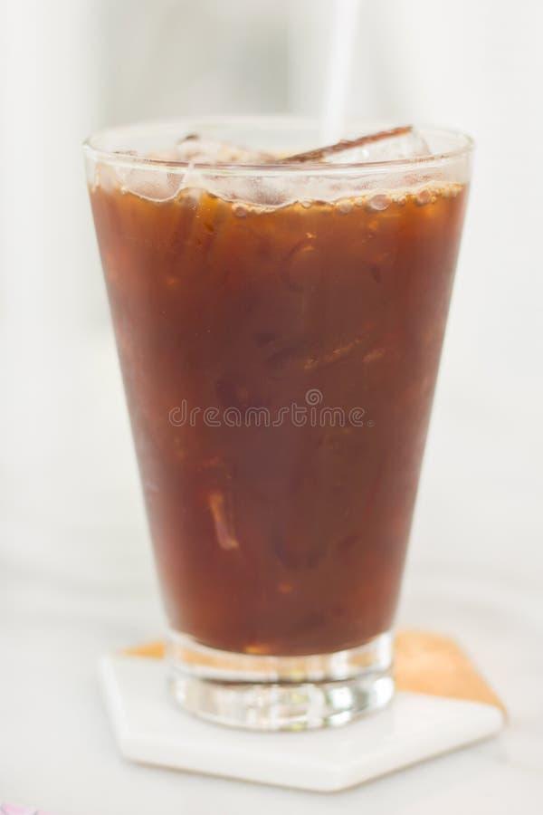 Boisson glacée de café d'Americano photographie stock libre de droits
