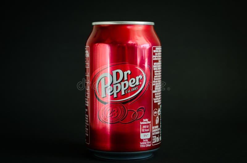 Boisson molle de kola de Dr. Pepper image libre de droits