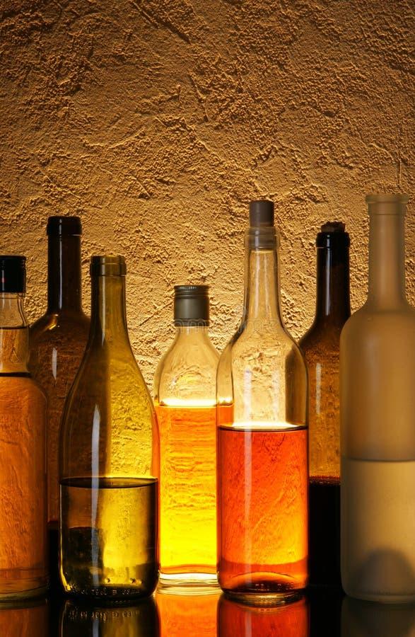 Boissons d'alcool image libre de droits
