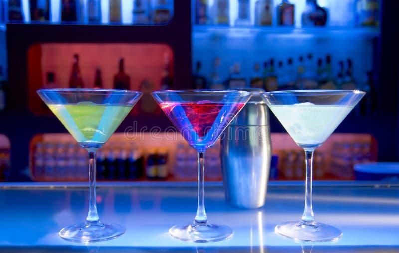 Boissons de cocktail photo stock