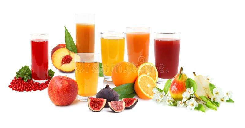 Boissons de fruit photographie stock libre de droits