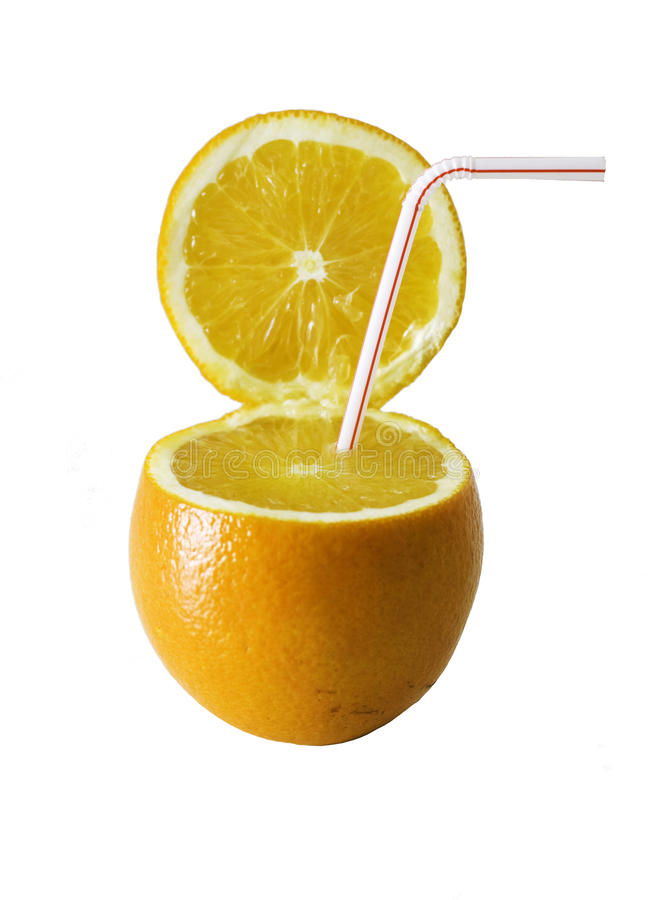 Boissons oranges photo libre de droits