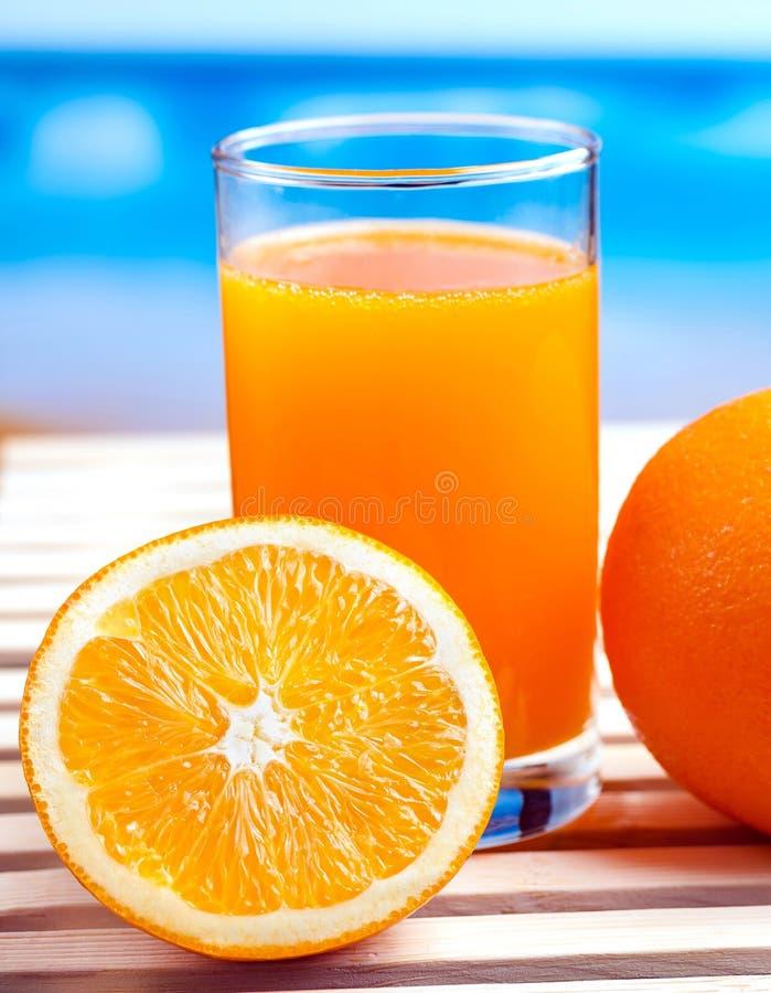 Boissons oranges fraîches de Juice Represents Citrus Fruit And image stock