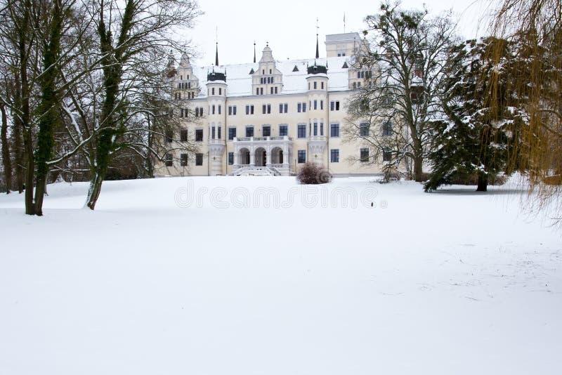 boitzenburg城堡uckermark 免版税库存图片