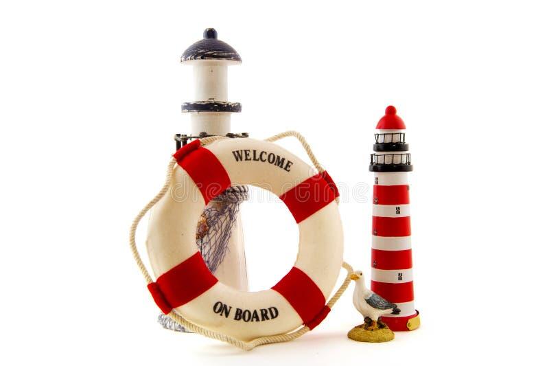 boja życia latarnia morska zdjęcie stock