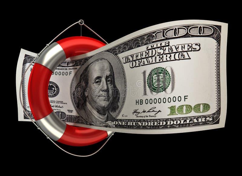 boja pojęcia dolary sto żyć royalty ilustracja