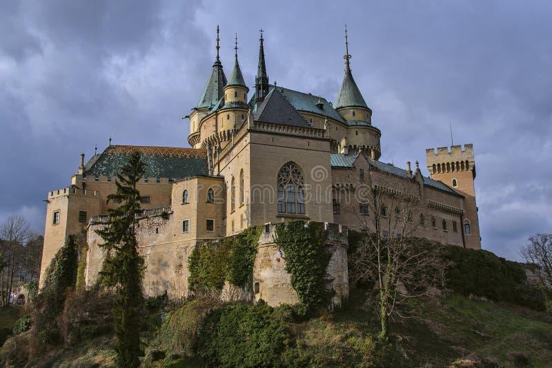Bojnice城堡 图库摄影