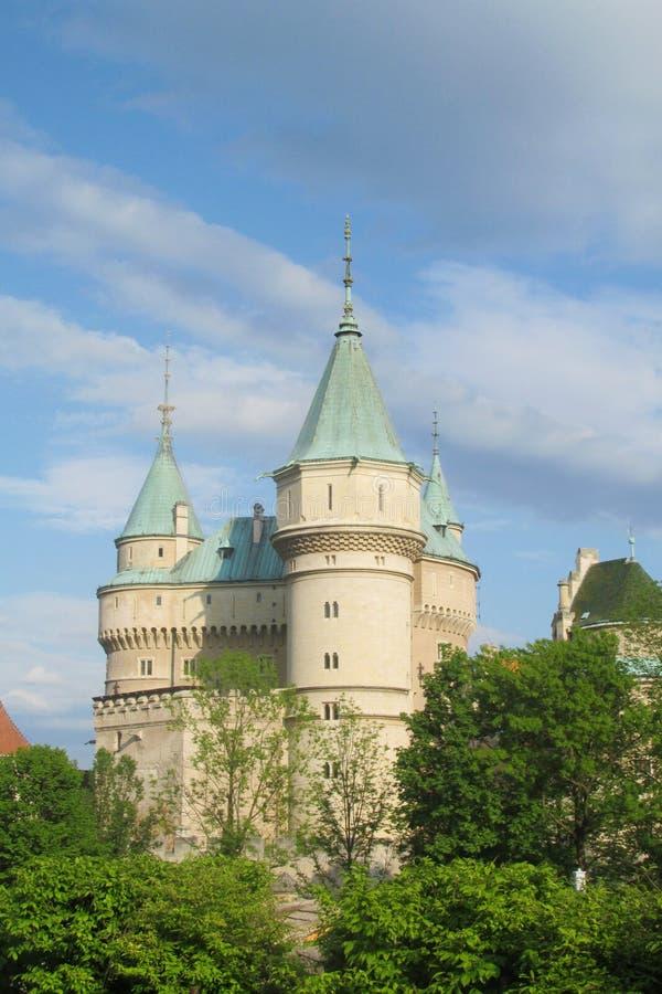Bojnice slott arkivbilder