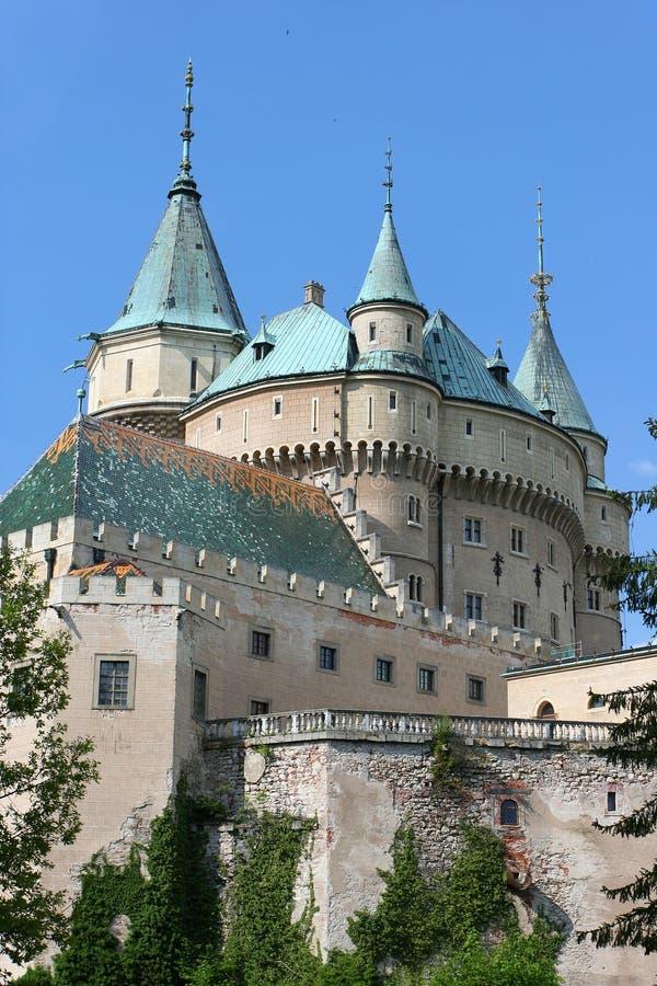 bojnice zamku zdjęcie stock