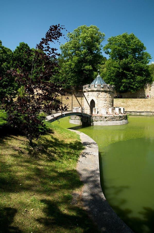 Bojnický城堡 免版税库存照片