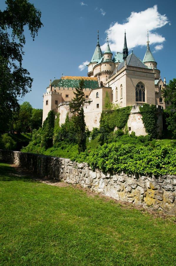 Bojnický castle royalty free stock image