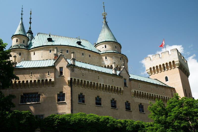 Bojnickýkasteel royalty-vrije stock fotografie