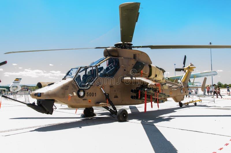 Bojowy helikopter fotografia stock