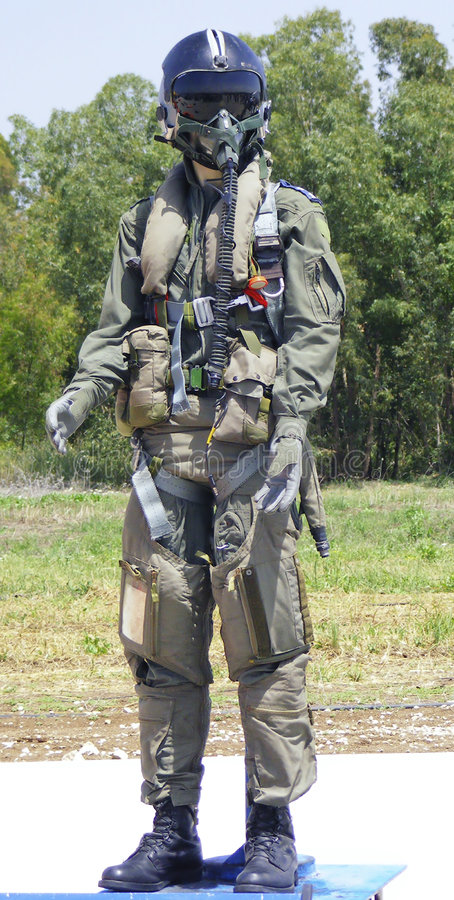 bojowy izraelski kostium obraz stock