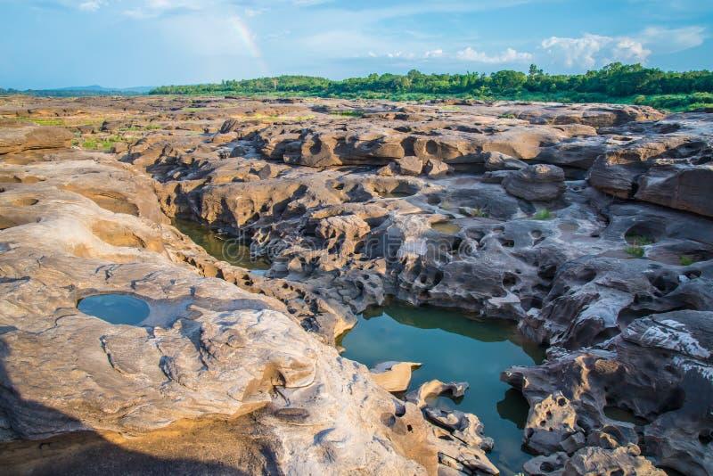 Download 3000 Bok, Bok De La Cacerola De Sam, Ubon Ratchathani, Foto de archivo - Imagen de piedra, serenidad: 42429660