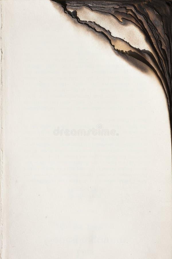 bok bränd kant royaltyfria foton
