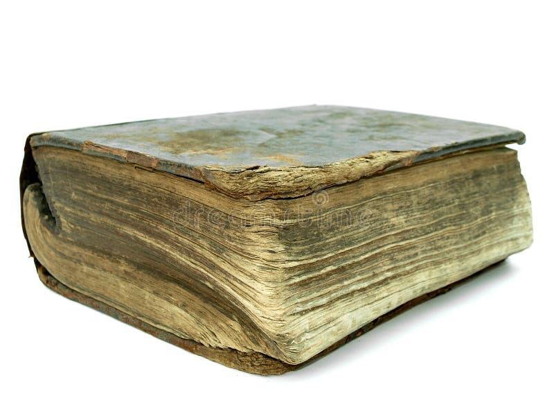 bok bruten gammal tappning royaltyfria foton