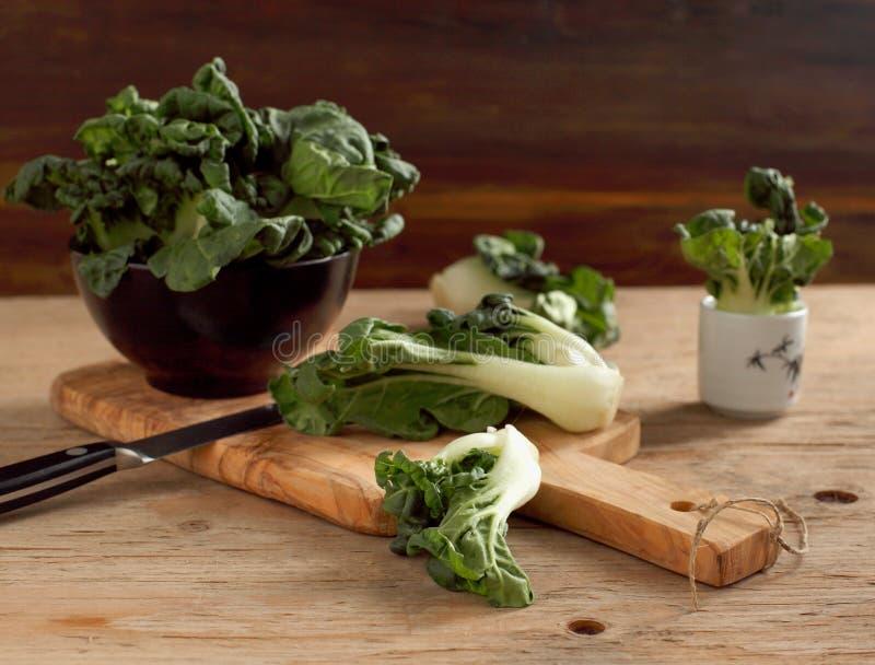 Bok choi vert frais. photo stock