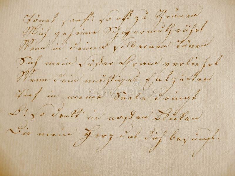 bok handskrivet I royaltyfria foton