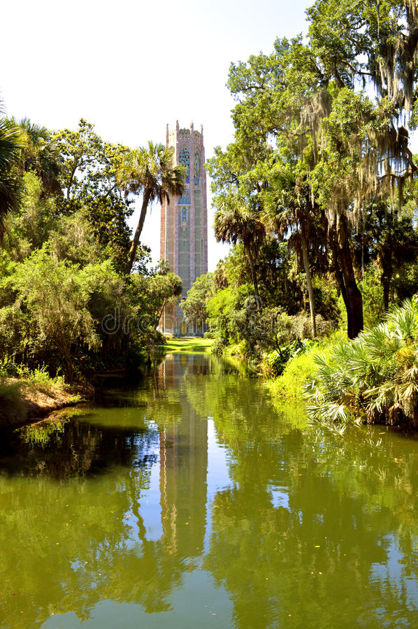 Bok singing tower. In Florida USA stock image
