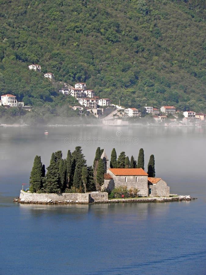 Boka Kotorska bay, Monte Negro. Beautiful Boka Kotorska bay, Monte Negro, Europe royalty free stock photography
