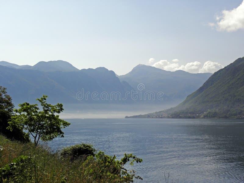 Boka Kotorska bay, Monte Negro. Beautiful Boka Kotorska bay, Monte Negro, Europe stock photo