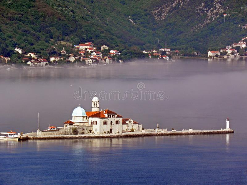 Boka Kotorska bay, Monte Negro. Beautiful Boka Kotorska bay, Monte Negro, Europe royalty free stock image