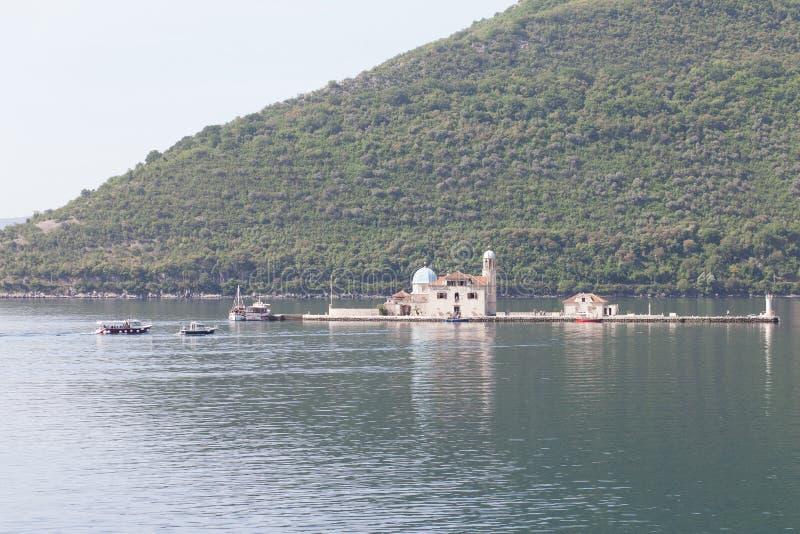 View of Boka Kotorska Bay. Boka Kotorska Bay royalty free stock image