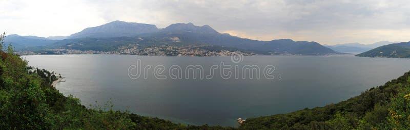 Boka Kotorska zatoka zdjęcia stock